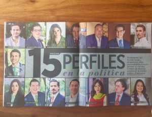 "2015. Reforma newspaper, MX. Named one of the ""15 most influential people in politics in Mexico""."